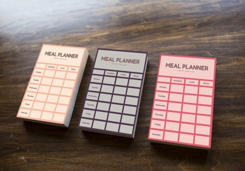 Meal Planner Sheets image 0
