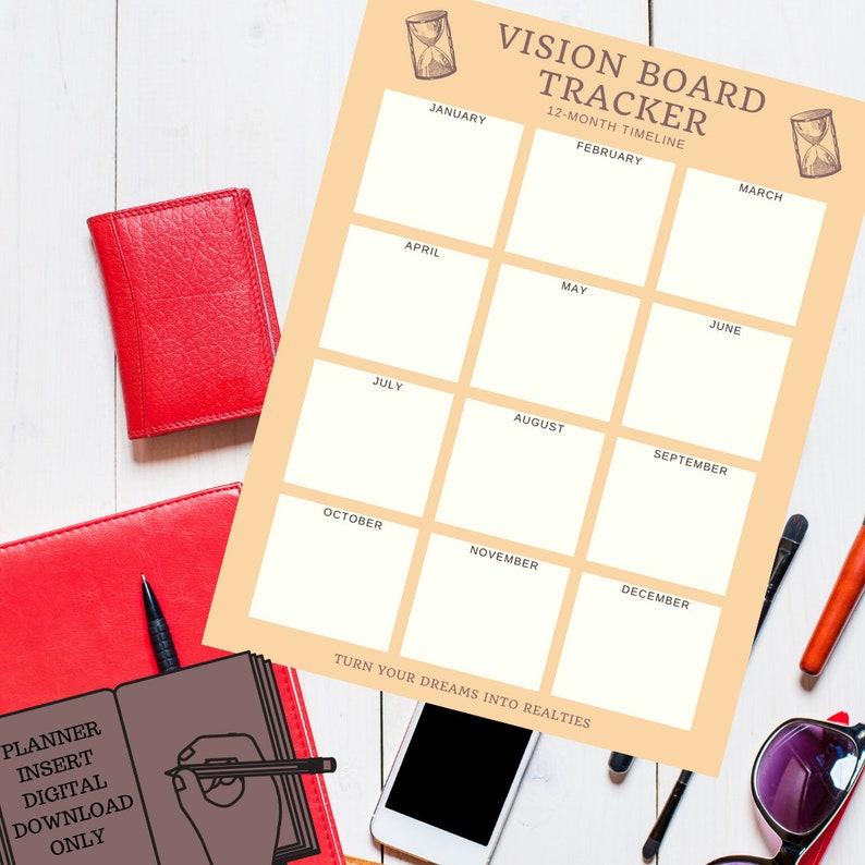 Vision Board Tracker image 0