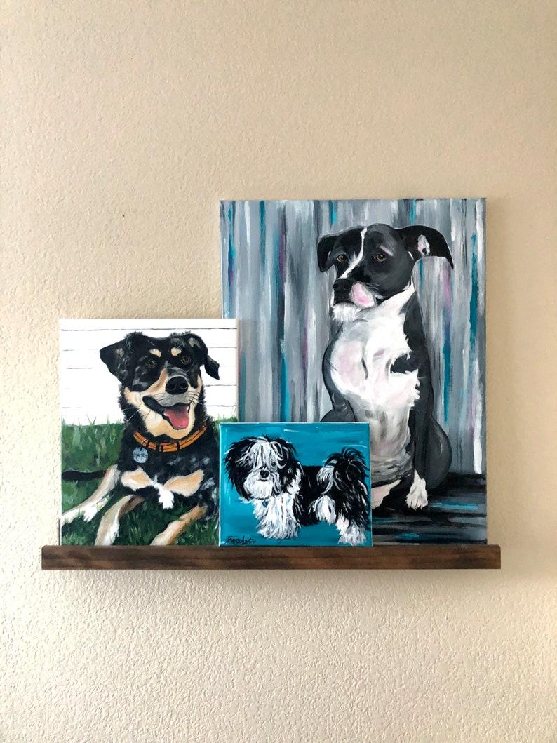 NORWICH TERRIER dog art PRINT pop art bright colors 8.5x11