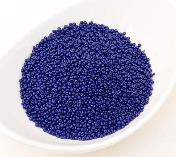 Light Blue 80 Czech Glass Seed Beads Preciosa 20g