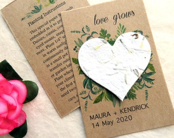 State Wedding Favor for Guests DIY Alabama Custom Seed Packet Wedding Favors Alabama Rustic Seed Envelope Favor Many Colors Available