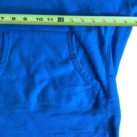 Vintage Champion Reverse Weave Hoodie/ All Blue R… - image 5