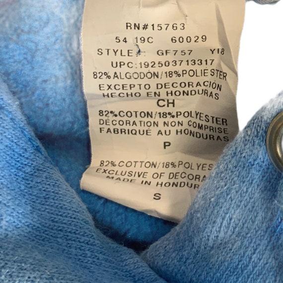 Vintage Champion Reverse Weave Hoodie/ All Blue R… - image 4