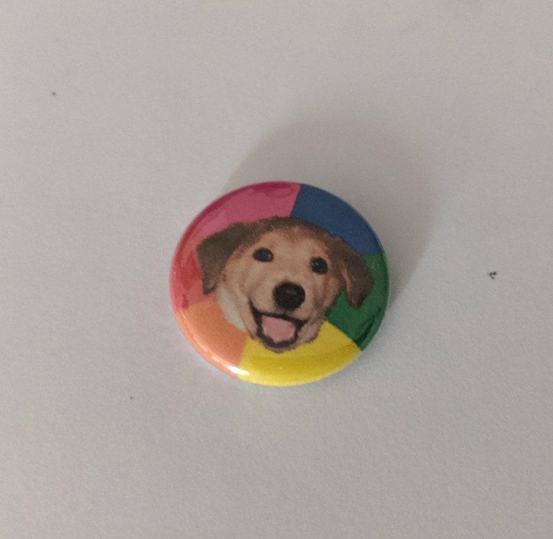 1 Advice Dog Pinback Meme Button