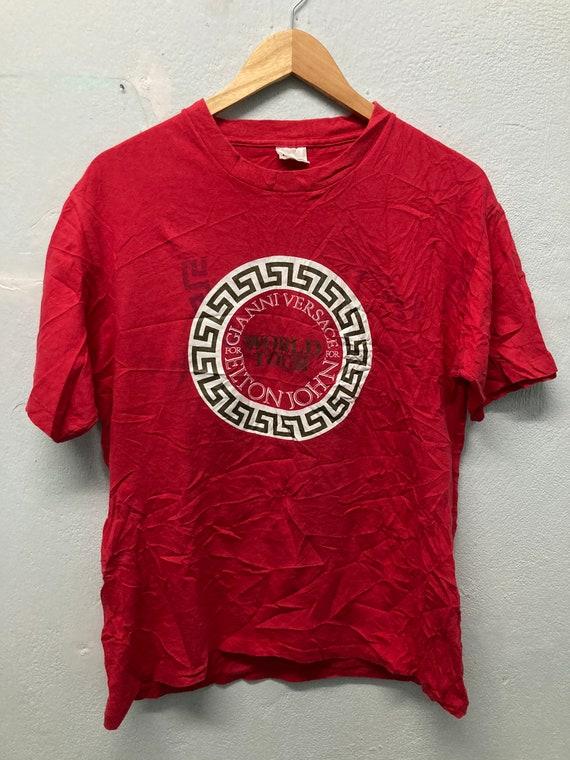 Vintage Elton John x Versace T-shirt size L
