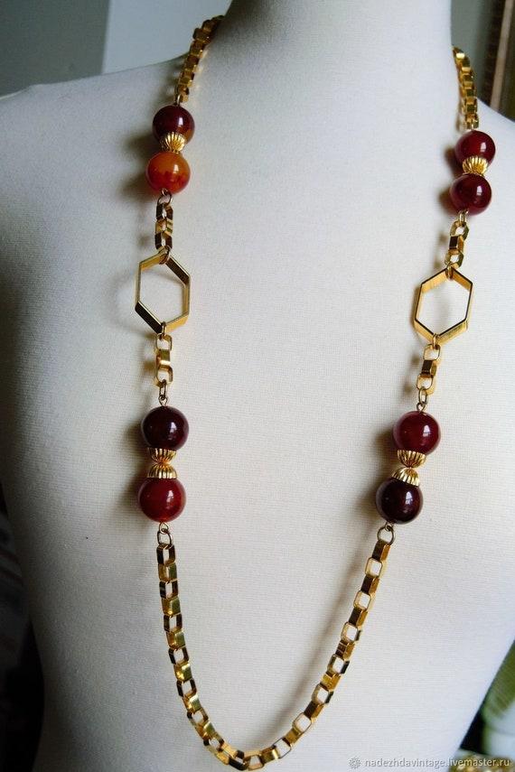 Vintage 1940s Bakelite Necklace. - image 5