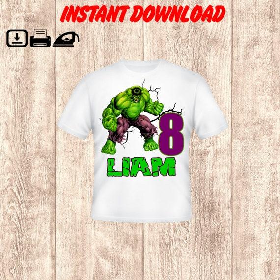 TMNT Birthday Shirt Design Digital File PNG Iron On Transfer