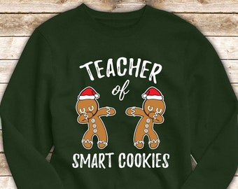Funny Fa La 8 Christmas Math Teacher Santa Hat X-mas Holiday Sweatshirt
