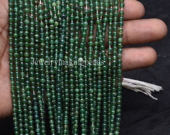 Natural Mica margaj Smooth Beads Green Aventurine Fancy Beads For Jewelry Handicrafts Beautiful Green Mica Fancy Shape Beads,13 Strand