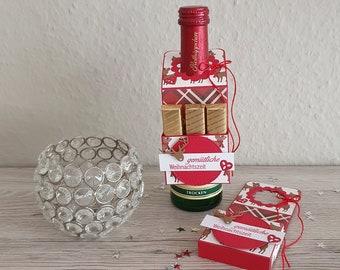 Bottle tag Christmas, gift tag Christmas, gift idea Christmas, souvenir Christmas, Christmas, St. Nicholas