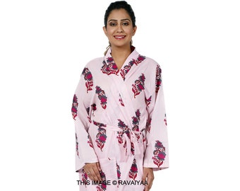 Long Cotton Dress Night Dress Women Caftan Maternity Wear Resort Wear Maxi Dress Christmas Gift #KAFTAN 518 Free Size Dress Spa Robe