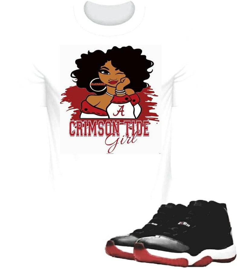 Alabama Crimson Tide Girl Shirt