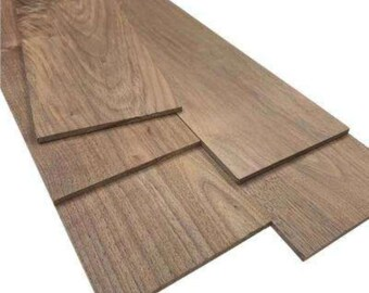 Thin Solid Wood Lumber Made by Wood-Hawk 24 Long 1//4 x 5 x 24 You Choose Width Pack of 2 Hard Maple 1//4 Thick Up to 7 Wide