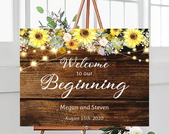Shower sign digital template Open air wedding party small signs WS015 galaxy and fairy lights Editable wedding table signs