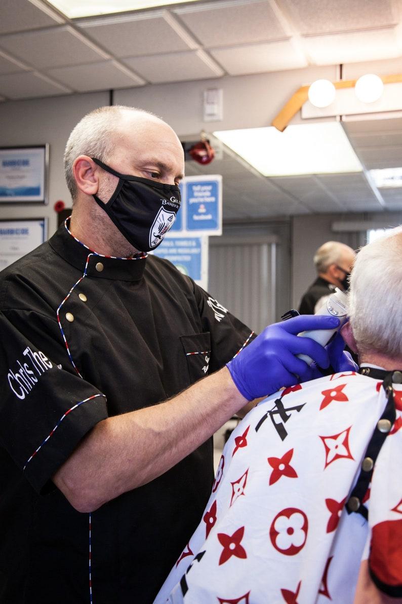 2 BarberStylist Cut JacketsSmocks