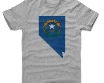 Nevada Lifestyle Las Vegas Nevada Flag Map Las Vegas Kids T-Shirt