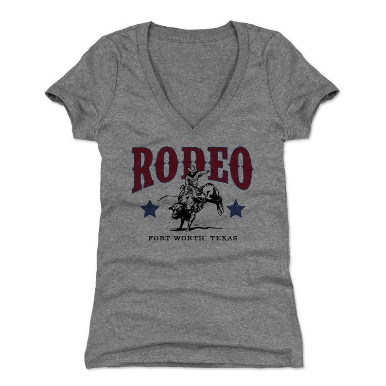 Dallas Women/'s V-Neck T-Shirt Texas Lifestyle Fort Worth Texas Rodeo