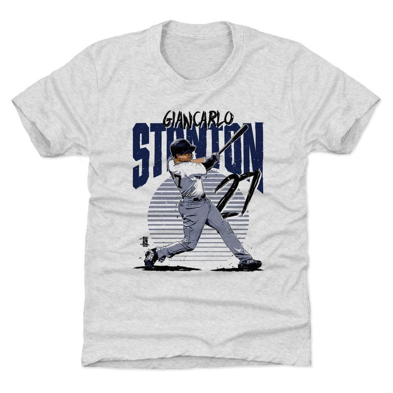 Giancarlo Stanton Kids T-Shirt New York Y Baseball Giancarlo Stanton Rise B