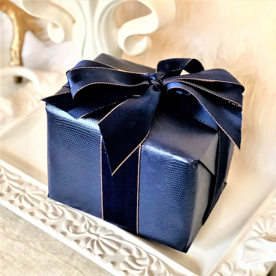 Gift Wrap Luxury Wrap Gift for boyfriend Wrapping Paper Gift Wrapping Paper Terrazzo Paper Dark Navy Terrazzo Gift Wrap
