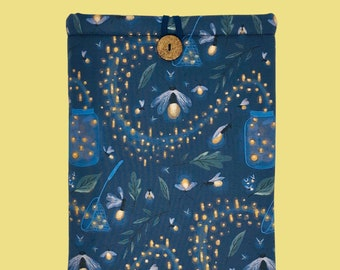 "FIREFLIES ""Page & Pocket"" Book Sleeve"