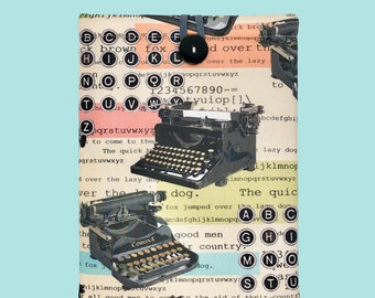 """QWERTY """"Page & Pocket"""" Book Sleeve"""