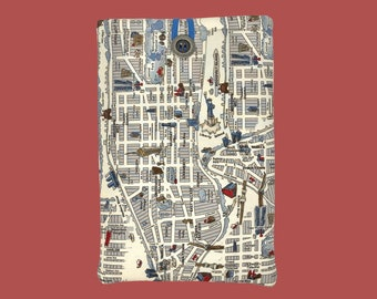 """NYC """"Page & Pocket"""" Book Sleeve"""
