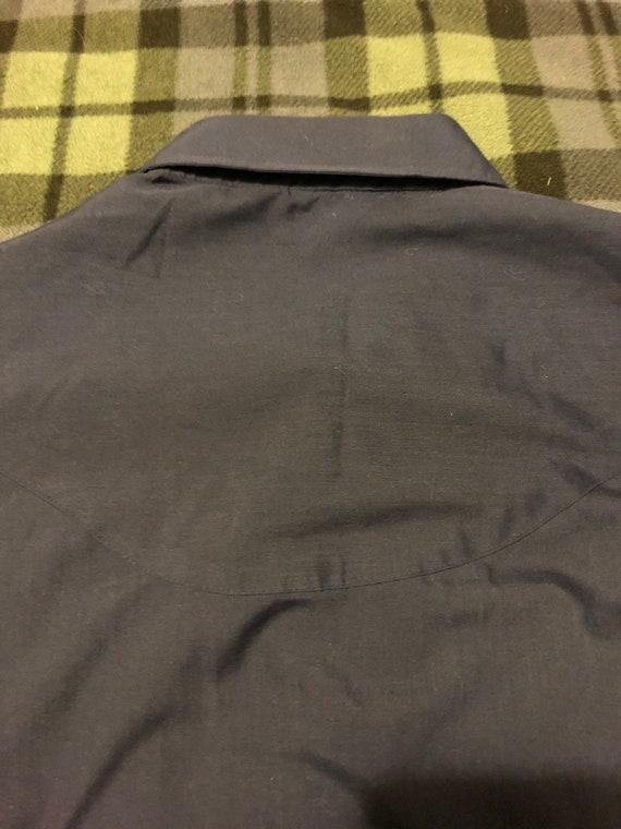 MINT! Vintage Levi's Western Shirt Men's XL 70s - image 10