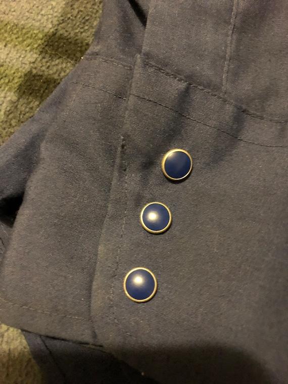 MINT! Vintage Levi's Western Shirt Men's XL 70s - image 4