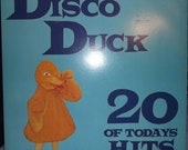 The Homesteaders - Disco Duck - 20 Of Todays Hits 12 quot Vinyl Record