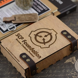 Scp Foundation Engraved Wood Writing Journal A5 Wooden Etsy If i'm not mistaken, thaumiel class means that the containment procedures also detail procedures for. etsy