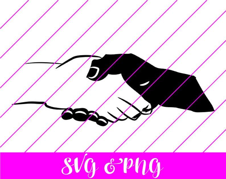 svg hands svg Cut Files Black Handshake SVG /& PNG cricut cut file african american black and white handshake BLM Black Lives Matter