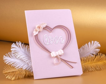 Elegant pearl card. Gift for her