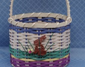 Touch of blue Easter Basket