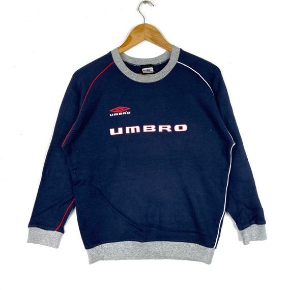 Vintage UMBRO Sweatshirt Big Logo Pullover Jumper