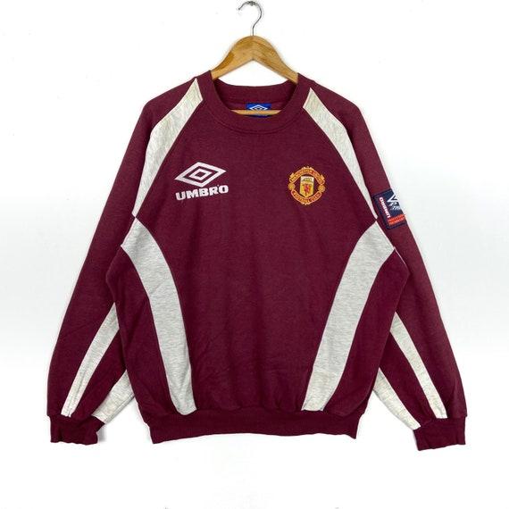Vintage Manchester United Sharp Umbro Training Swe