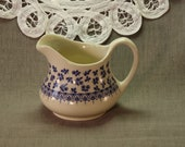 Vintage Creamer, England Pitcher, Provence Style, Ironstone, Vintage, Vintage Jug, Old Pitcher, Home Decor, Home and Living, Retro