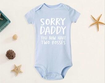 Little Rock baby bodysuit onesie Little parents boss fan funny bodysuit Daddy son daddy gift I still live With MY Parents Baby Bodysuit