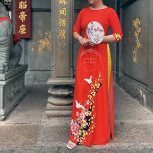 Headpiece for Vietnamese Ao Dai Kh\u0103n \u0110\u1ed1ng