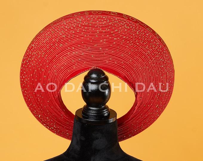 Headpiece for Vietnamese Ao Dai - Khăn Đống