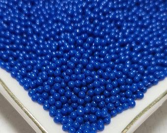 Decoden Sprinkle 1mm Beads Fake Food Faux Food Fake Sprinkles Fake Jimmies FAKE 1mm Blue Nonpareil Sprinkles Slime Sprinkles