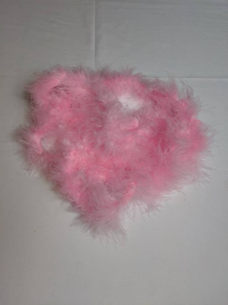 10 Pack of Pink Feather Boa/'s Final Flamingle Let/'s Flamingo Flamingo Party Favors Flamingo Decorations