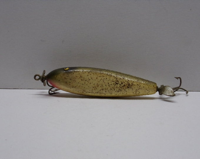 Vintage creek chub injured minnow ????????? topwater prop lure from 1960s