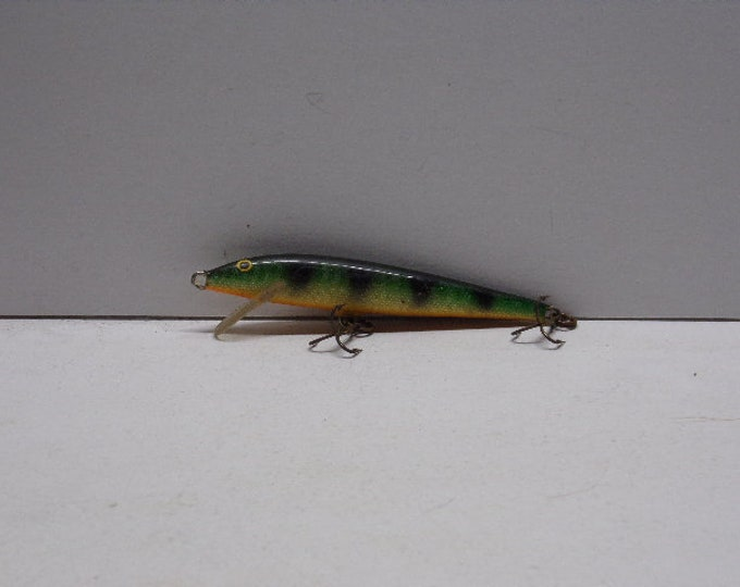"Vintage rapala floating  minnow lure size 4"" from 1960s1970s"