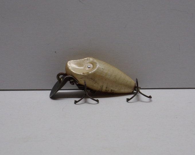 """Vintage heddon midget diget diving lure size 2"""" from 1960ss"""
