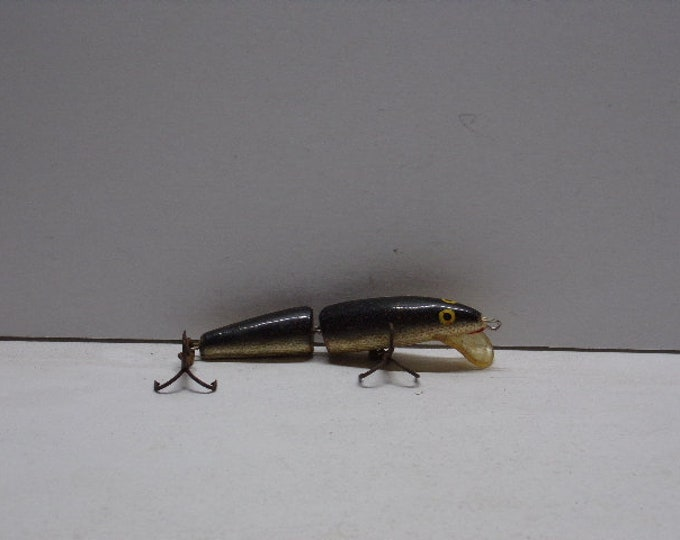 "Vintage rapala floating jointed minnow lure size 3"" from 1960s1970s"