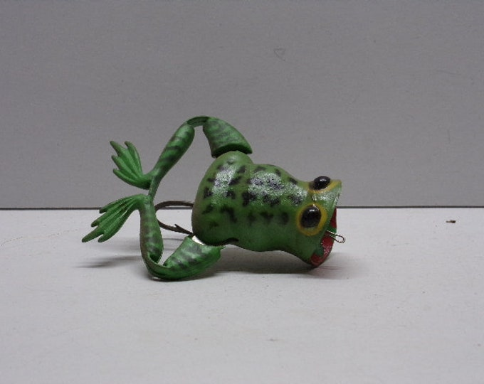 Vintage jenson froglegs midget kicker lure from 1950s1960s