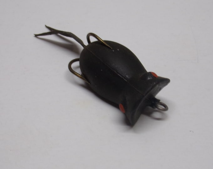 Vintage snag proof rubber popper lure from 1970s