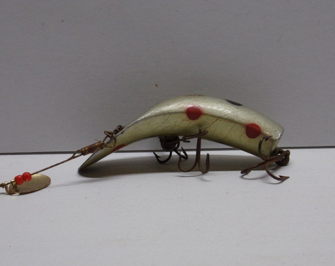 Vintage flatfish fishing lure model sps from 1960s