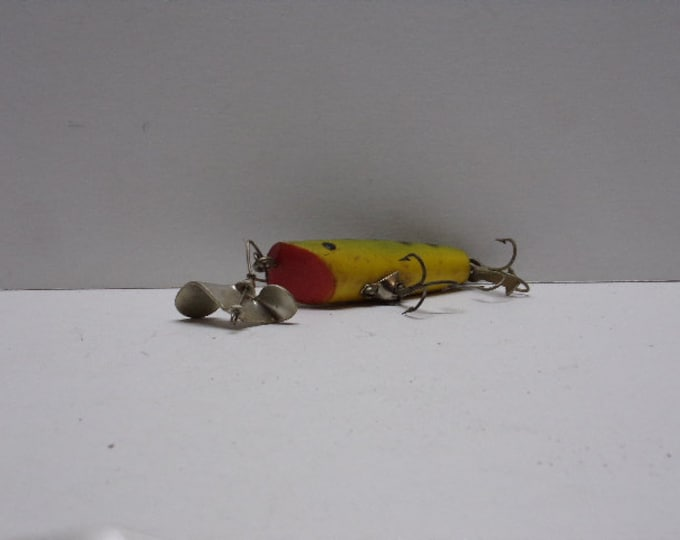 Fred arbogast sputter bug fishing lure from 1960s