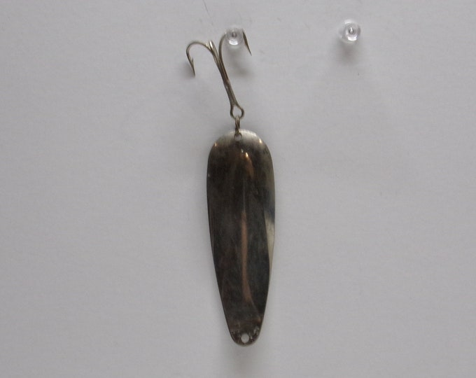 Vintage pike muskie trout fishing spoon lure made in the 1950s1960s